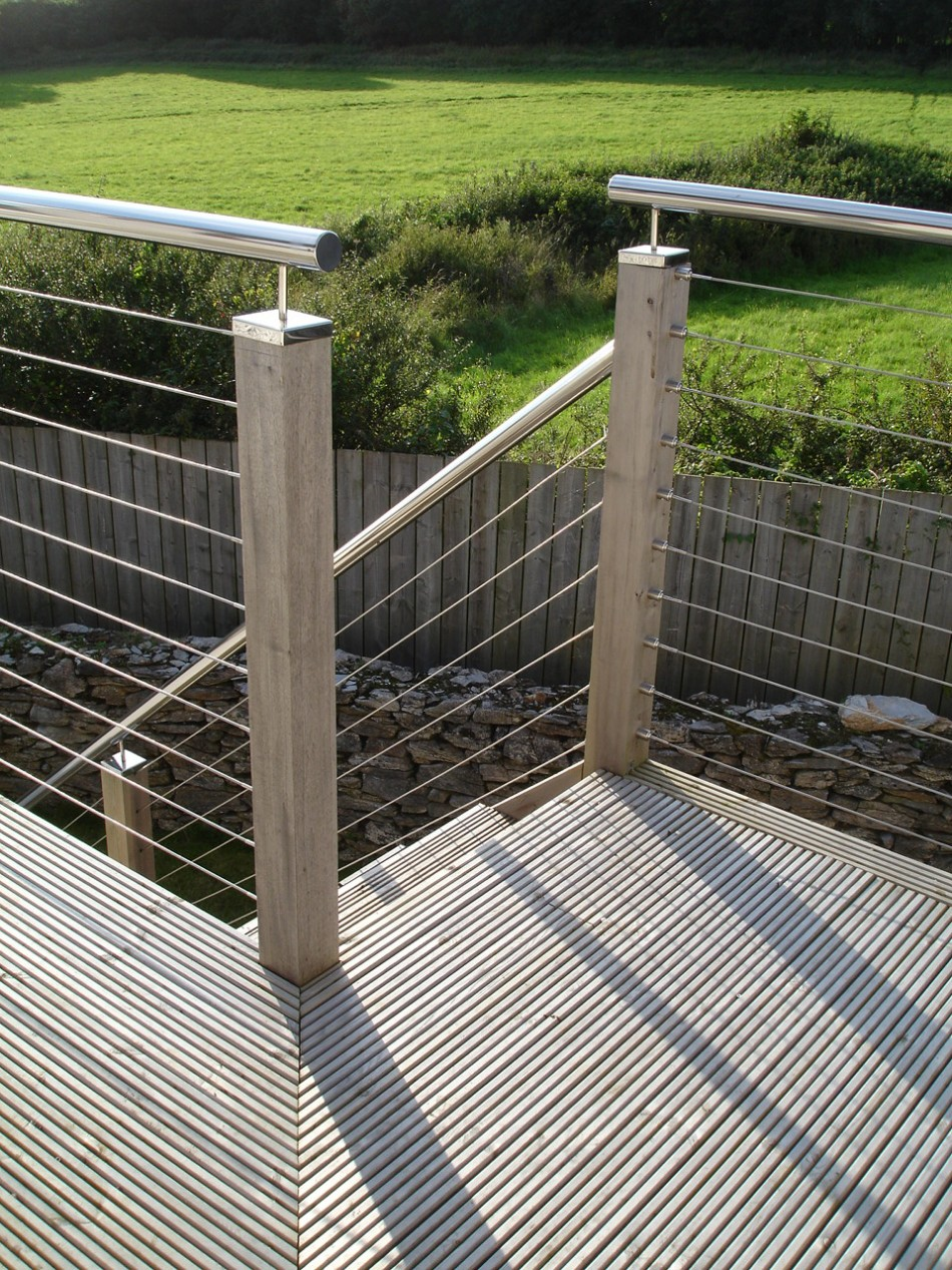 Wire Balustrade Kits Wire Design For Decking And Stair