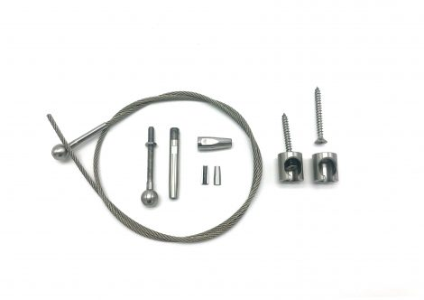 Self fit wire balustrade kit